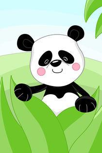 Panda fürs Kinderzimmer von Michaela Heimlich