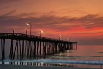 Fishing Pier Sunrise von John Greim