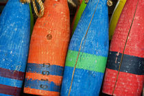 Colorful Buoys von John Greim