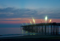Fishing Pier Sunrise by John Greim