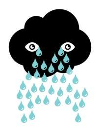 Sad Cloud by Jason paul