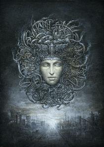 Cyber Gorgon by yaroslav-gerzhedovich