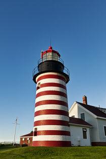 West Quoddy Head Lighthouse, Lubec, Maine, USA von John Greim