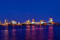 Atlantic City Skyline von John Greim