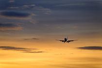 Sunset Jet von John Greim
