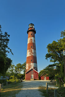 Assateague Lighthouse, Virginia, USA by John Greim