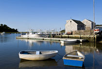 Rowboats, Chatham, Cape Cod, MA, USA by John Greim