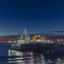 Santa Monica Pier von Wayne Ford