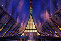 Air Force Academy Chapel by John Greim