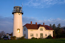 Chatham Lighthouse, Cape Cod, USA von John Greim