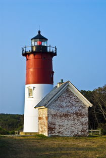 Nauset Lighthouse, Cape Cod, USA by John Greim