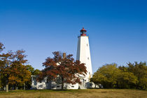 Sandy Hook Lighthouse, Sandy Hook, NJ, USA by John Greim
