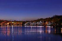 Boathouse Row, Philadelphia, Pennsylvania by John Greim