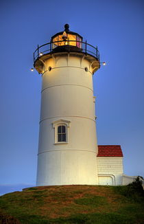 Nobska Point Lighthouse, Cape Cod, Massachusetts, USA by John Greim