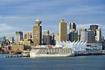 Vancouver Skyline, Canada von John Greim