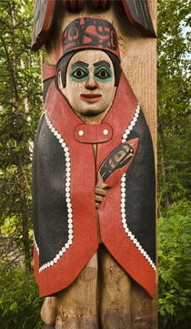 Totem Pole, Alaska by John Greim