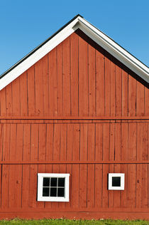 Rustic red barn, Vermont, USA von John Greim