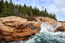 Coastline, Acadia National Park, Maine, USA von John Greim