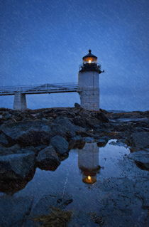 Marshall Point Lighthouse, Maine, USA by John Greim