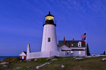 Pemaquid Point Lighthouse Maine, USA von John Greim
