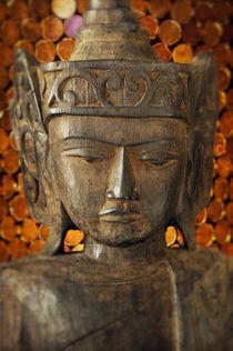 Wooden Buddha von John Greim