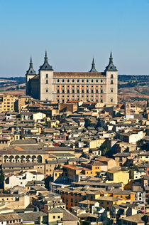 Cityscape and Alcazar, Toledo, Spain by John Greim