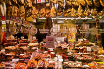 Museo del Jamon, Museum of Ham, Madrid, Spain von John Greim