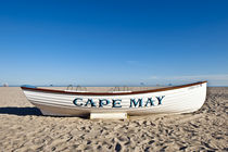 Lifeguard resue boat, Cape May, USA von John Greim