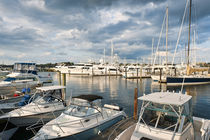 Yachts in Newport, Rhode Island, USA by John Greim