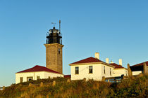 Beavertail Lighthouse, Rhode Island, USA von John Greim