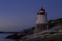 Castle Hill Lighthouse, Newport, Rhode Island, USA by John Greim