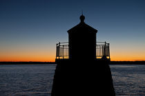 Castle Hill lighthouse, Newport, Rhode Island, USA von John Greim
