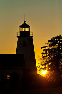 Dyce Head Lighthouse, Castine, Maine, USA by John Greim