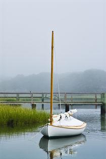 Lone boat, Cape Cod, MA, USA by John Greim