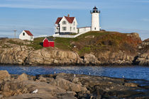 Nubble Lighthouse, Cape Neddick, Maine, USA by John Greim