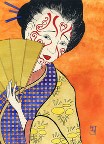 Japanese girl von IVAN DE FRANCISCO
