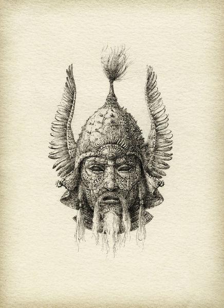 Winged-helmet