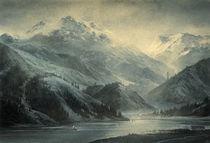 Mountain Landscape by yaroslav-gerzhedovich