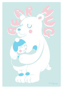 Bear Hug by Samantha Eynon