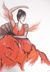the geisha  by ladydreamfire