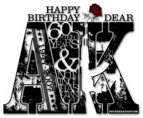 Happy Birthday Dear AK by Onur Erbay