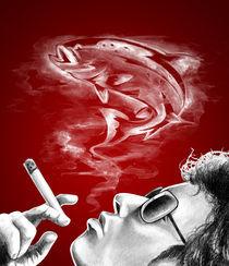 smoking salmon von Martin Sierra