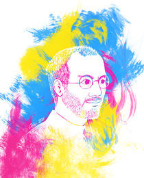 Steve Jobs by Alexandra Salas