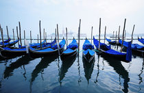 Gondolas, Venice von Ronnie Peters
