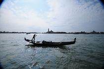 Venice gondola von Ronnie Peters