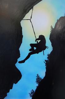 Rock Climber von Rozalia Toth