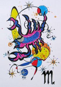 Sternzeichen- Skorpion von Dieter Holzner