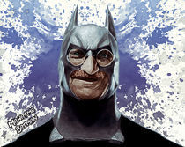 Mahatma Batman von Jegor Svensson