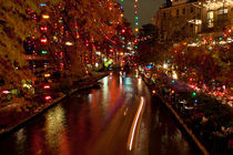 San Antonio Rriverwalk at Christmas. USA, San Antonio  von Irina Moskalev