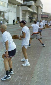 Matkot Players in Tel Aviv von sannekurz